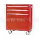 Телега инструментальная (BIG RED TBR3003-X TB2060BBS-B) (4 секции)(арт: TBR3003-X)