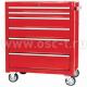 Телега инструментальная (BIG RED TBR3006-X TB2070BBS-B) 6 ящиков роликовые направляющие подкатн(арт: TBR3006-X)