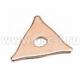 Шайба треугольная медная 802296 для аппарата контактной сварки (арт: 802296)