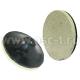 Насадка на ПМ резиновый диск с войлоком (черный) (арт: 4477)