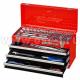 Набор инструментов в металлическом ящике (арт: 901-069MR)