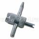 Метчик для правки резьбы вентилей Т604 шиномонтажные материалы (арт: 5394)