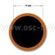 Шиномонтажные материалы: заплаты камерные на фольге 75 мм Р1112 (арт: Р1112)