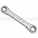 FORCE Ключ накидной трещоточный прямой 8*9 F8240809 (арт: 8240809)