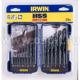IRWIN Набор свёрел по металлу HSS PRO DIN 338 19пр 10502500(арт: IRWIN_10502500)
