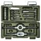 Набор метчиков и плашек Дело Техники 16 предметов HSS4341 (M3-М12, стандартная резьба) 239160 (арт. 239160)