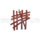 Шиномонтажные материалы: жгут коричневый 204мм. 12-362 (25 шт)(арт: 13-362)