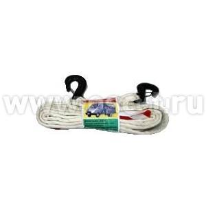 Трос-буксировочный 5 м 5 т с крюками (Россия) 023032(арт: R_023032)