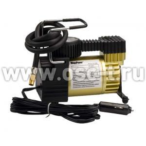 Компрессор автомобильный MEGAPOWER в сумке малый S-14001A с автоотключением (арт: M-14001A)