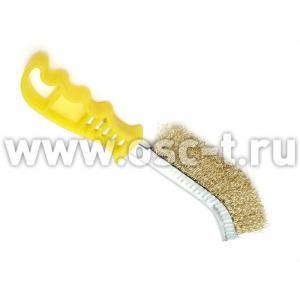 Щетка по металлу загнутая MATRIX 748505 (арт: MAT_748505)