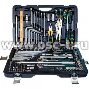 Набор инструментов: чемодан с 12-ти гранными головками, 142 предмета Force 41421R-9 (арт: 41421-9)
