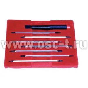 Набор отверток часовых профи 64540 в бархатной коробке (арт: 64540)