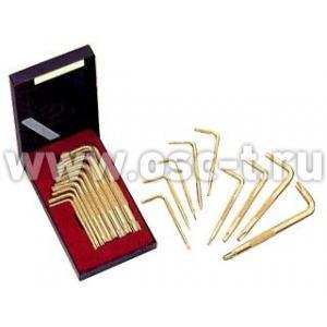 Набор Torx Force Г-образный, Т10-Т50, золотые (арт: 5092)