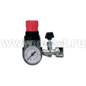 ASTURO Регулятор давления (редуктор) 61000 для компрессоров с манометром F200/3(арт: AST_61000)