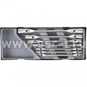 Набор ключей торцевых шарнирных Force F5075 (арт: 5075)
