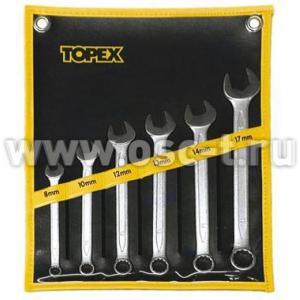Набор ключей комбинированных Topex (арт: 35D762 P.L.)