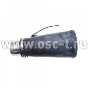 Неопреновая насадка диаметром 140 мм для шланга 76 мм TROMMELBERG CA000076120 (арт. NEON140-75CA)