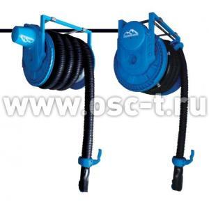 Шланг термостойкий TROMMELBERG Катушка для вытяжки отработанных газов со шлангом 102 мм, длинна 8 м, дистанционное управление HR70-80/102EH(арт: HR70-80/102EH)