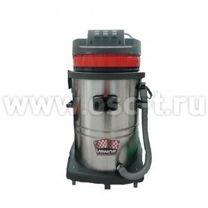 Пылесос CB60-3 трехтурбинный пылеводосос 60л бак 1540 (арт. CB60-31540)