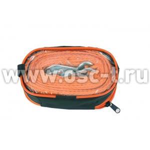 Трос буксировочный 3,5т ленточный 2 крюка в чехле STELS 54379 (арт. 54379)