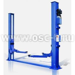 Подъемник 2-стоечный 4т, электрогидравлический SF-B4000 SAFE нижняя синхронизация (арт. SAFEB4000ES)