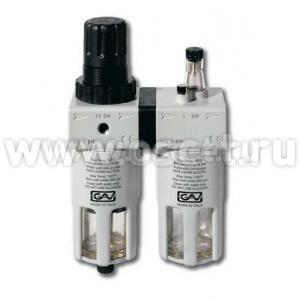 Модульная группа FRL200 TOYA GV-0870  ЭНТ15157 (масловлагоотделитель + лубрикатор) (арт: FRL200)